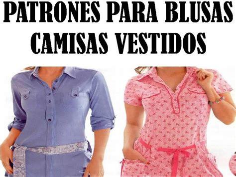 molde camisa dama patrones de blusas camisas vestidos para damas bs 20