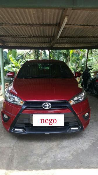 Toyota Yaris Trd S 2014 At jual yaris 1 5 s at trd 2014 stnk 2015 mobilbekas
