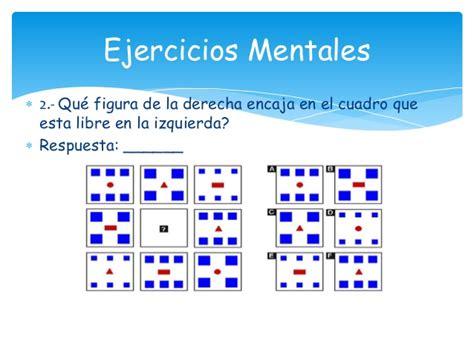 imagenes mentales ejercicios ejercicios mentales