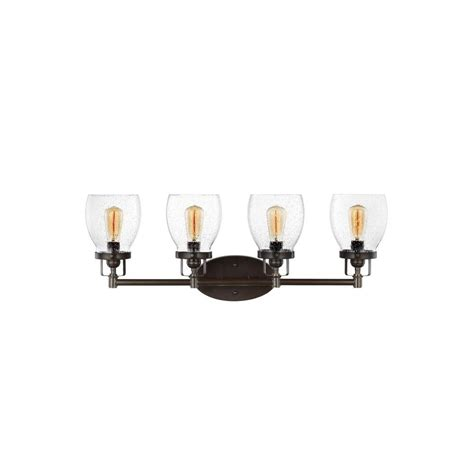 4 light vanity light bronze sea gull lighting belton 4 light heirloom bronze vanity