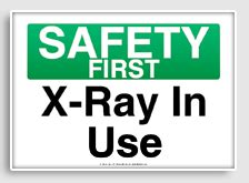 printable x ray signs osha safety signs freesignage com completely free
