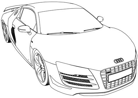 Ausmalbilder Audi by A5 Colouring Sheets Free Coloring Pages Audi Cars R4