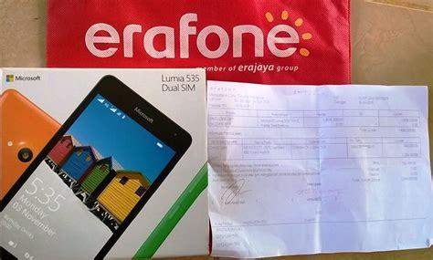 erafone outlet menjajal sensasi belanja handphone di outlet erafone oleh