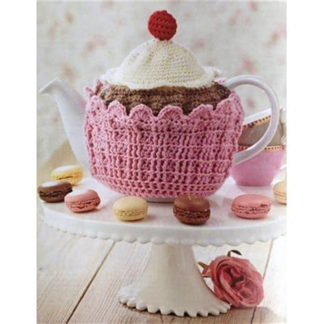 cupcake tea cosy knitting pattern free cupcake tea cosy crochet pattern by millieroseuk