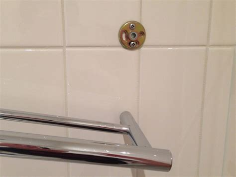 broken down in bars and bathrooms bathroom how can i repair a towel bar with one end