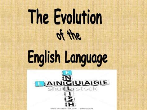 language history history of language