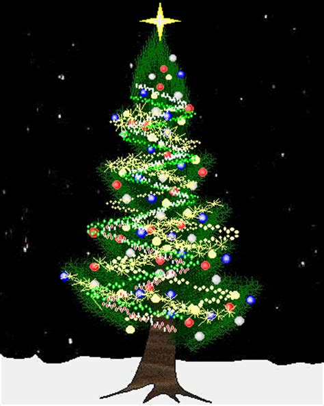 animated christmas tree gif downloadclipart org