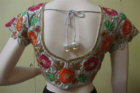 embroidery blouse models of blouse blouse style including