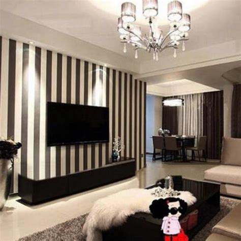 black and white striped home decor wall papers home decor modern fashion black and white