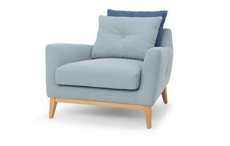 Light Blue Armchair Armchair In Light Blue Out And Out Original