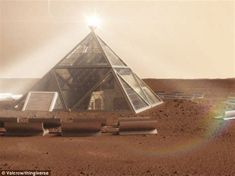 mars in the first house is this what a house on mars will look like six sided rooms in a honeycomb shaped