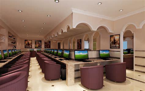 interior design for net cafe internet cafe interior design 3d view