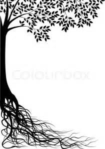 Wall Stickers Dandelion tree silhouette stock vector colourbox