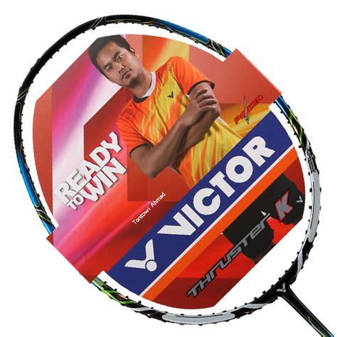 victor badminton racket south korean team thruster k 9000