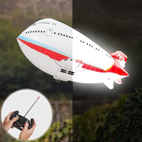 remote control airplane balloon  led feature