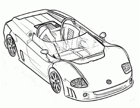 free coloring pages of racing cars to colour