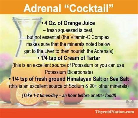 Adrenal Cocktail Detox 259 best images about s disease on