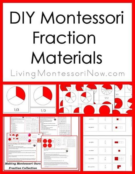 montessori fractions printable montessori monday diy montessori fraction materials