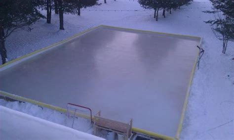 backyard ice rink kit nicerink backyard ice rink kit