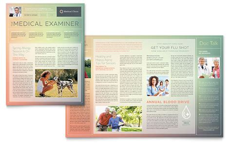 microsoft publisher templates newsletter clinic newsletter template word publisher