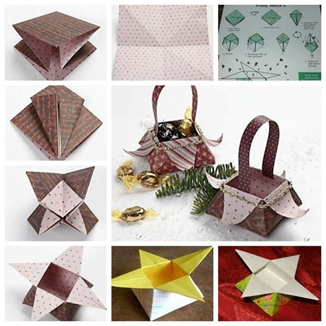 Diy Origami - wonderful diy origami box