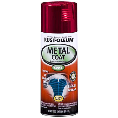 rust oleum 174 high gloss metal coat spray paint 12 oz at menards 174