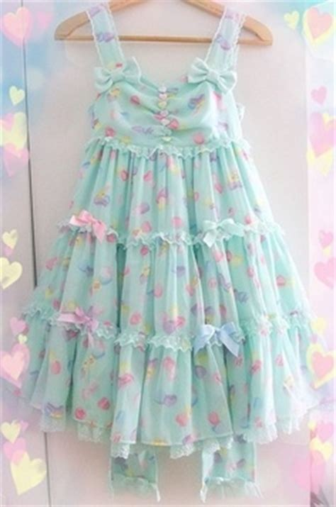 Kawai 15 Wos Blue Pink kawaii summer dress