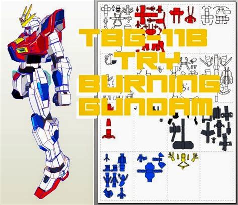 Papercraft Gundam Template - papercraft templates gundam papercraft tbg 011b try