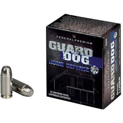 federal guard 9mm federal guard 9mm luger ammo 105 grain metal jacket