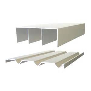 Closet Door Runners Multistore 2400mm Wardrobe Sliding Door Track Bunnings Warehouse