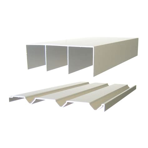 Sliding Door Tracks For Wardrobes multistore 1800mm wardrobe sliding door track bunnings