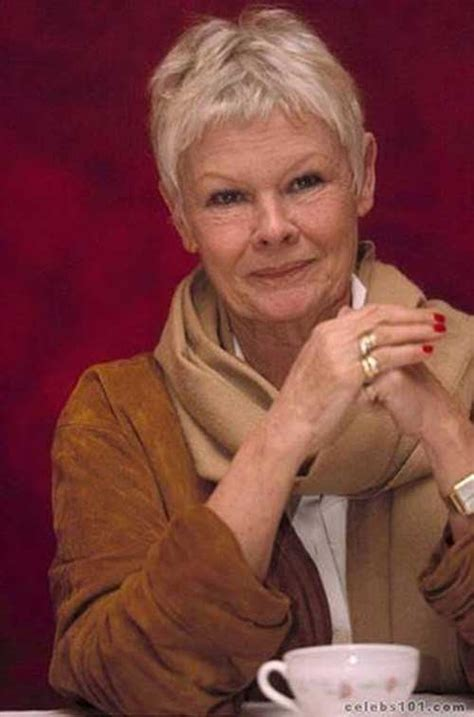 how to style the judi dench haircut 20 pixie haircuts for women over 50 pixie cut 2015