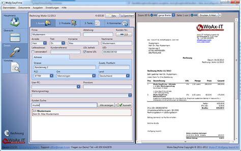 Angebotsvorlage Software B 252 Rosoftware Woax Easyfirma Software