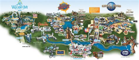 universal studios map universal orlando resort tickets packages and planning