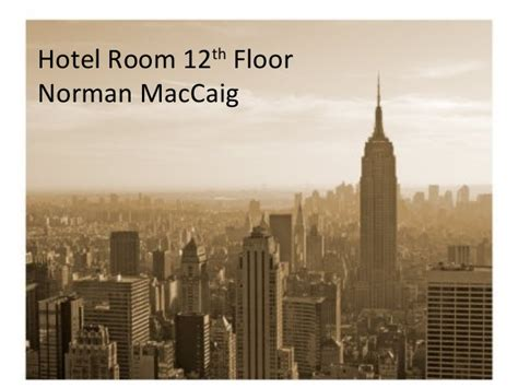 Hotel Room 12th Floor by Hotel Room 12th Floor