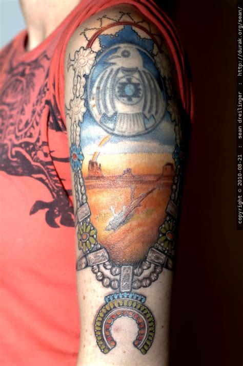 navajo tattoos photo new detail and color in the navajo by