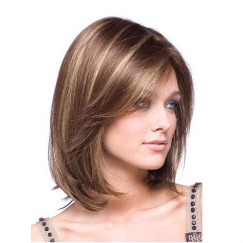 peluca cabello corto liso fleco casta 241 o con luces oro