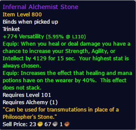 wow upgrade alchemy trinket professions for high end pve dps
