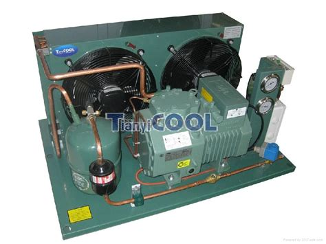 cooper capacitor units bitzer semi hermetic condensing unit for cold room tianyicool china manufacturer