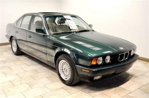 bmw 535i 1990 for sale sell used 1990 bmw 535i sedan 5 speed manual clean carfax