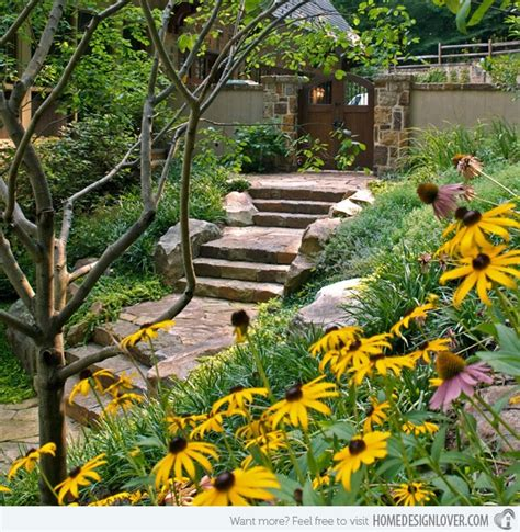 cool garden ideas 40 cool garden stair ideas for inspiration bored art