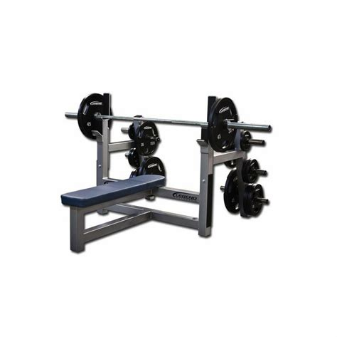 benching 2 plates legend fitness olympic flat bench w plate storage 3150