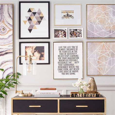 best gallery walls gallery wall ideas target