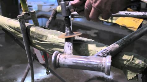 spray painting bike frame locked in how to paint restore your bike frame part 1