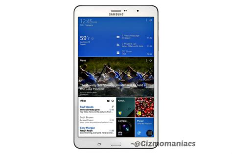 Samsung Tab 4 8inch Second samsung galaxy tab pro 8 4 inch with snapdragon 800 processor launched gizmomaniacs