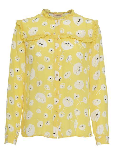 Yarrow Blouse 1 custommade petruska shirt yarrow yellow