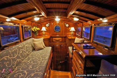 wooden boat interiors sailing yacht interior sailors and sailboats pinterest