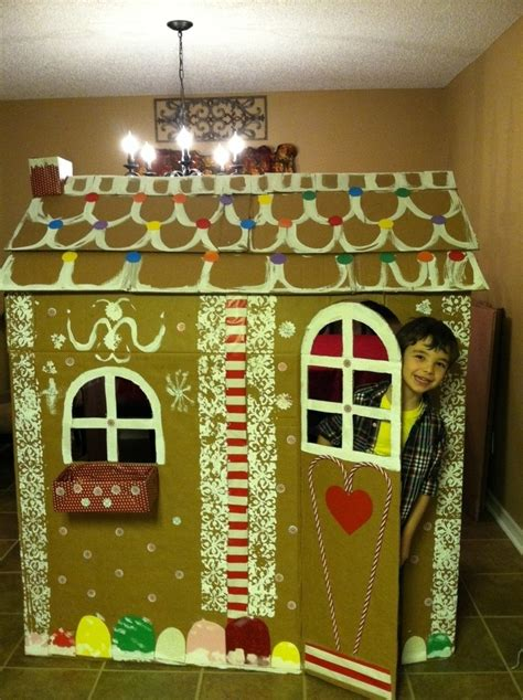life sized gingerbread house diy  favorite gingerbread