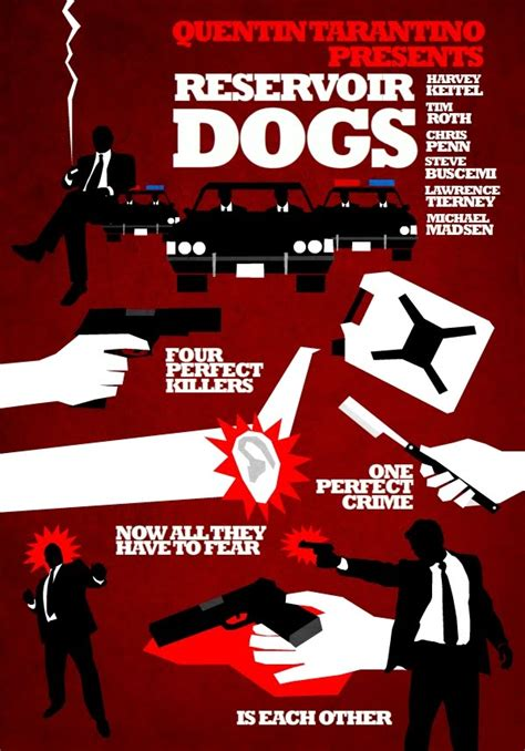 reservoir dogs poster alternate poster designs for tarantino s reservoir dogs