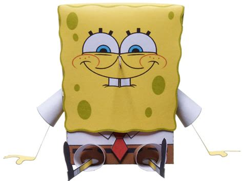 Spongebob Papercraft - pin papercraft spongebob on